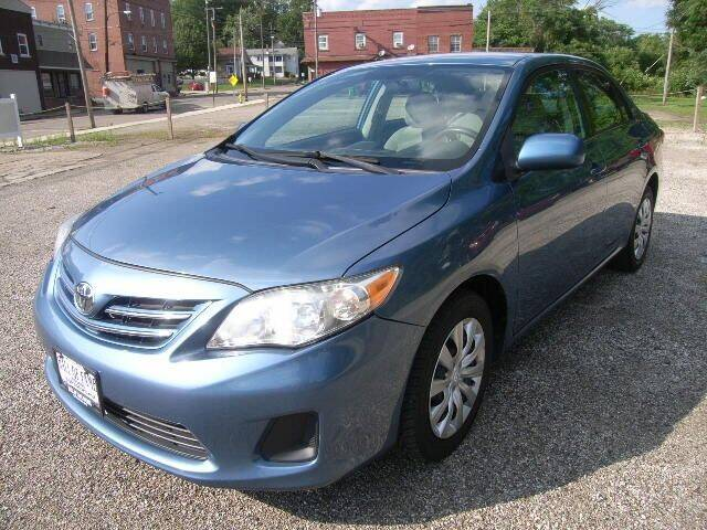 2013 Toyota Corolla for sale at HALL OF FAME MOTORS in Rittman OH