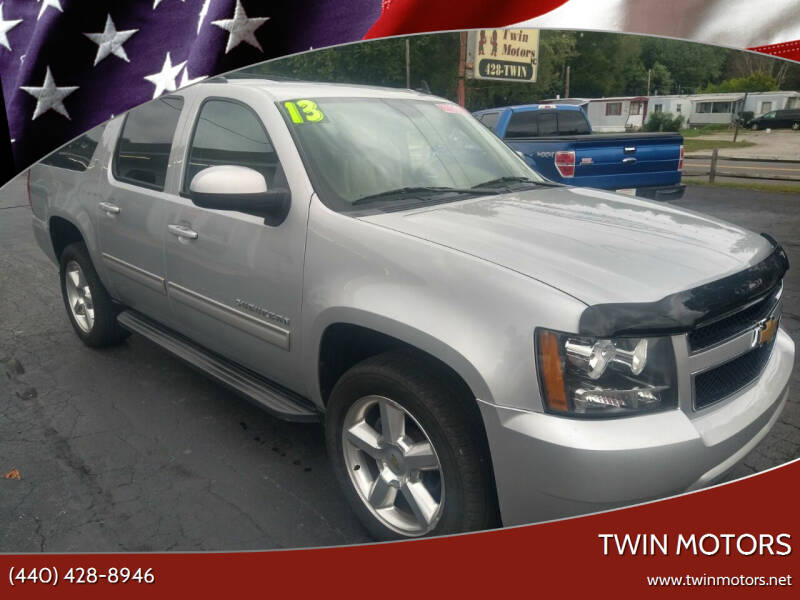 2013 Chevrolet Suburban for sale at TWIN MOTORS in Madison OH