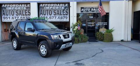 2009 Nissan Xterra for sale at Affordable Imports Auto Sales in Murrieta CA