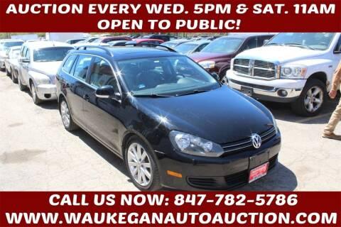 2012 Volkswagen Jetta for sale at Waukegan Auto Auction in Waukegan IL