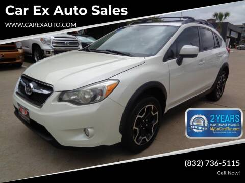 2014 Subaru XV Crosstrek for sale at Car Ex Auto Sales in Houston TX