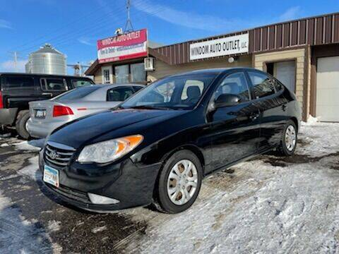 2010 Hyundai Elantra for sale at WINDOM AUTO OUTLET LLC in Windom MN