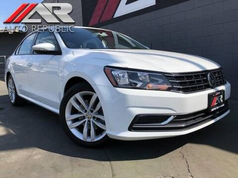 2019 Volkswagen Passat for sale at Auto Republic Fullerton in Fullerton CA