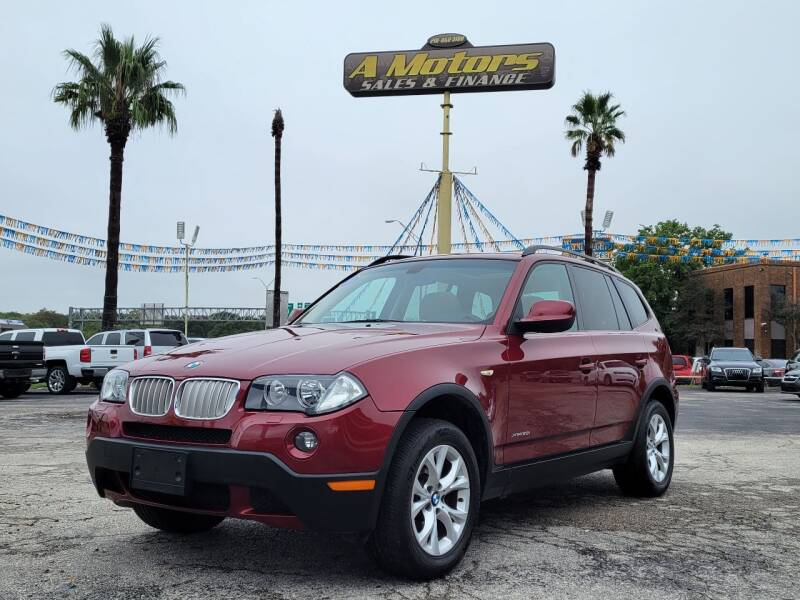 2010 BMW X3 for sale at A MOTORS SALES AND FINANCE in San Antonio TX