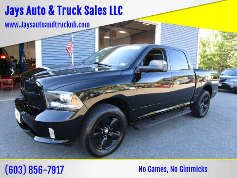 2014 RAM Ram Pickup 1500 for sale at Jays Auto & Truck Sales LLC in Loudon NH