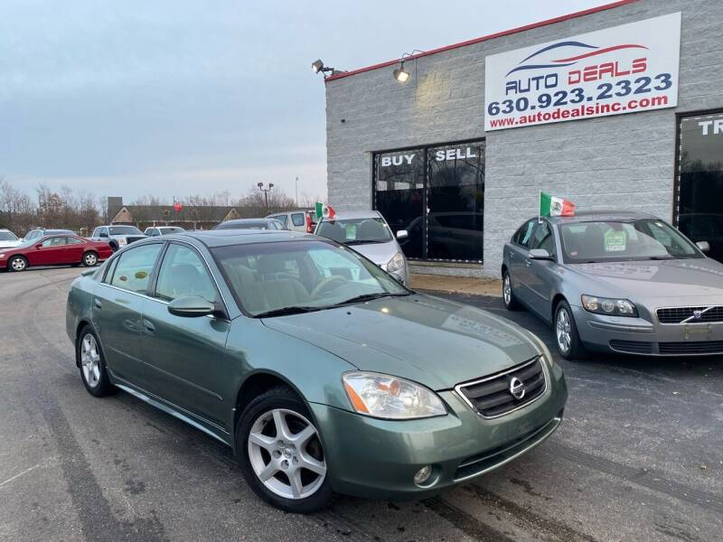 2003 Nissan Altima for sale at Auto Deals in Roselle IL