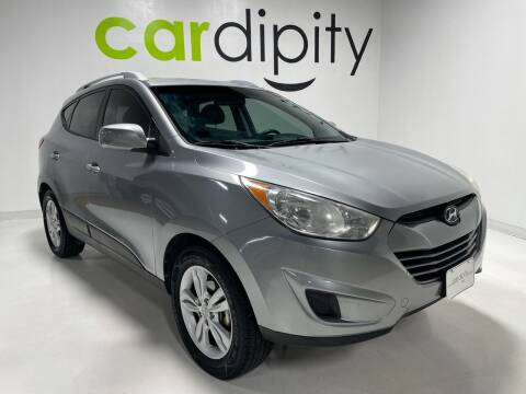 2010 Hyundai Tucson for sale at Cardipity in Dallas TX
