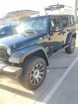 2015 Jeep Wrangler Unlimited for sale at Stephen Wade Pre-Owned Supercenter in Saint George UT