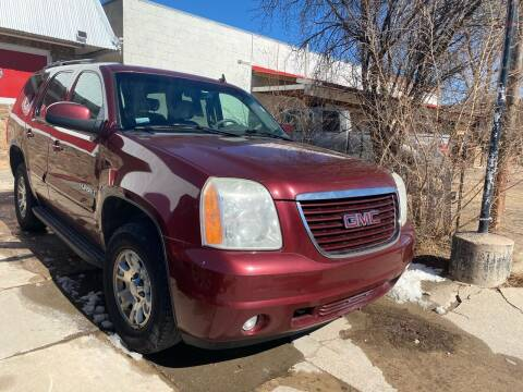 2008 GMC Yukon for sale at PYRAMID MOTORS AUTO SALES in Florence CO