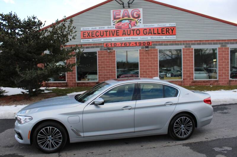 2018 BMW 5 Series for sale at EXECUTIVE AUTO GALLERY INC in Walnutport PA