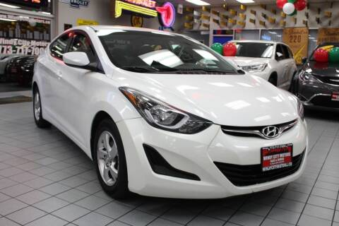 2014 Hyundai Elantra for sale at Windy City Motors in Chicago IL