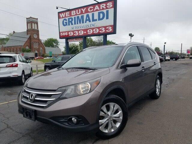 2012 Honda CR-V for sale at Grimaldi Auto Sales Inc in Warren MI