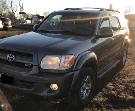 2007 Toyota Sequoia for sale at Valley Auto Sales in Fargo ND