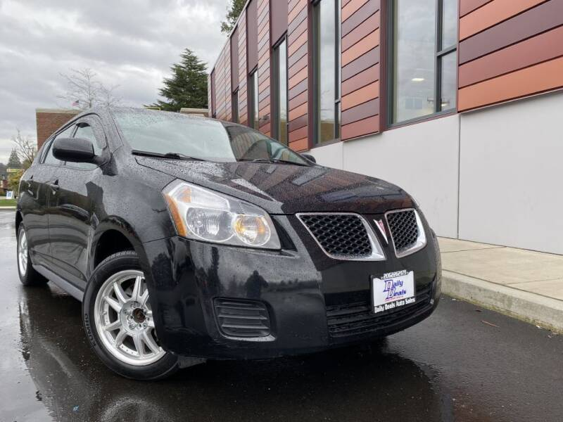 2009 Pontiac Vibe for sale at DAILY DEALS AUTO SALES in Seattle WA
