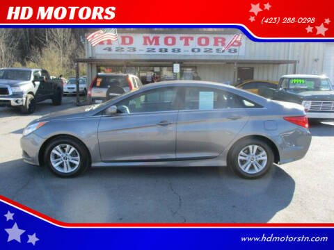 2014 Hyundai Sonata for sale at HD MOTORS in Kingsport TN