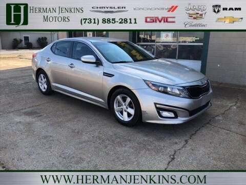 2014 Kia Optima for sale at Herman Jenkins Used Cars in Union City TN