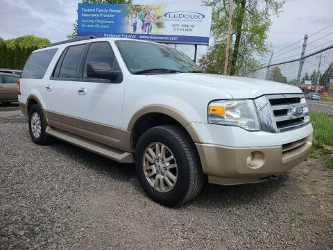 2012 Ford Expedition EL for sale at Universal Auto Sales in Salem OR