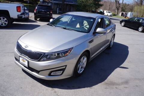 2015 Kia Optima for sale at Autos By Joseph Inc in Highland NY