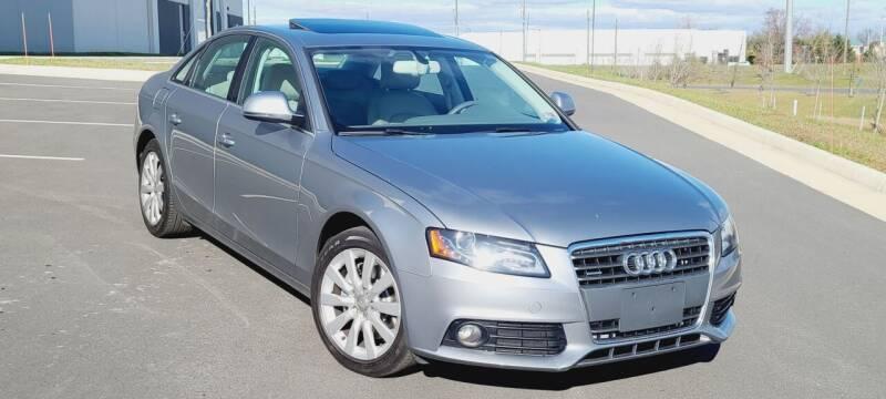 2009 Audi A4 for sale at BOOST MOTORS LLC in Sterling VA