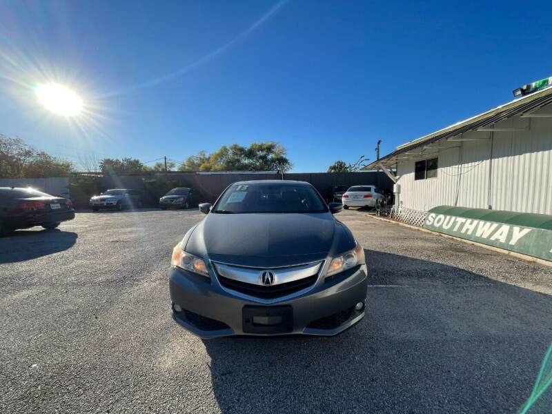 2013 Acura ILX for sale at SOUTHWAY MOTORS in Houston TX
