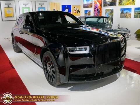 2018 Rolls-Royce Phantom for sale at The New Auto Toy Store in Fort Lauderdale FL