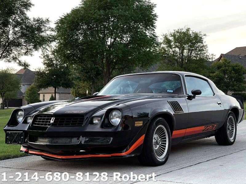 1979 Chevrolet Camaro for sale at Mr. Old Car in Dallas TX