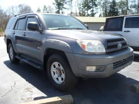2003 Toyota 4Runner for sale at Wade Hampton Auto Mart in Greer SC