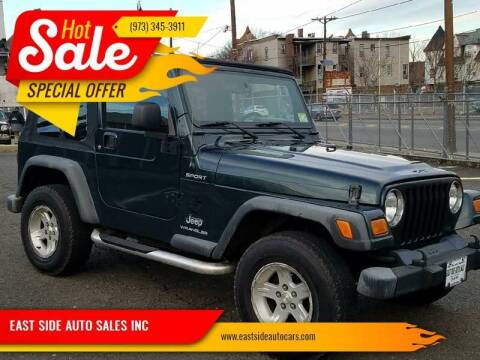 2006 Jeep Wrangler for sale at EAST SIDE AUTO SALES INC in Paterson NJ