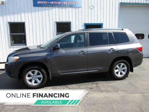 2010 Toyota Highlander for sale at Dunne Deals in Crystal Lake IL