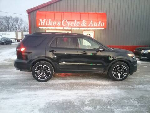 2015 Ford Explorer for sale at MIKE'S CYCLE & AUTO - Mikes Cycle and Auto (Liberty) in Liberty IN