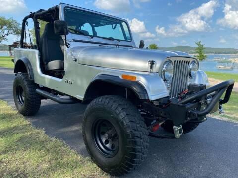 1986 Jeep CJ-7 for sale at Austin Elite Motors in Austin TX