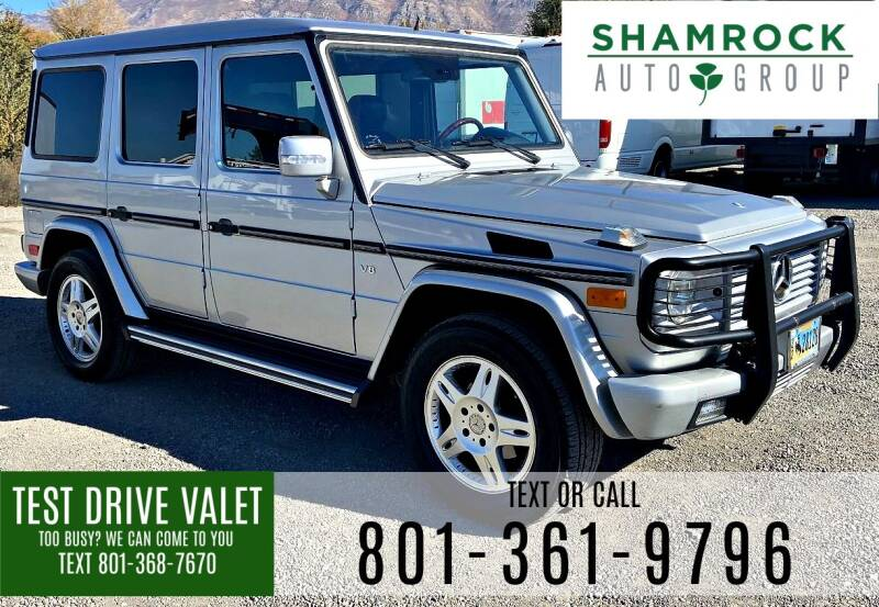 2005 Mercedes-Benz G-Class for sale at Shamrock Group LLC #1 in Pleasant Grove UT