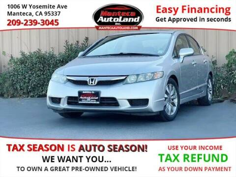 2010 Honda Civic for sale at Manteca Auto Land in Manteca CA
