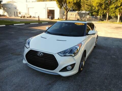 2013 Hyundai Veloster for sale at Best Price Car Dealer in Hallandale Beach FL