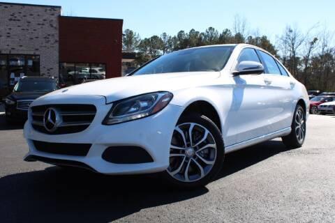 2016 Mercedes-Benz C-Class for sale at Atlanta Unique Auto Sales in Norcross GA