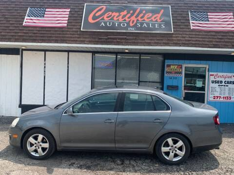 2008 Volkswagen Jetta for sale at Certified Auto Sales, Inc in Lorain OH