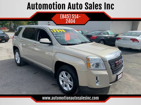 2011 GMC Terrain for sale at Automotion Auto Sales Inc in Kingston NY