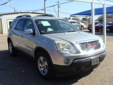2007 GMC Acadia for sale at Chuck Spaugh Auto Sales in Lubbock TX
