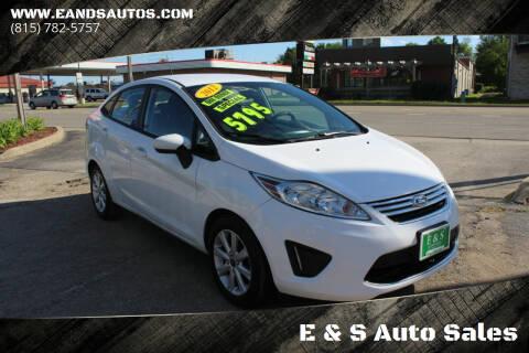 2012 Ford Fiesta for sale at E & S Auto Sales in Crest Hill IL