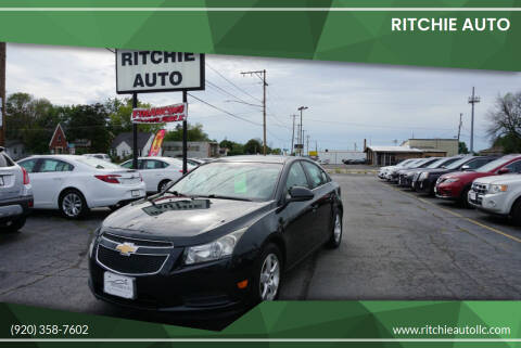 2013 Chevrolet Cruze for sale at Ritchie Auto in Appleton WI