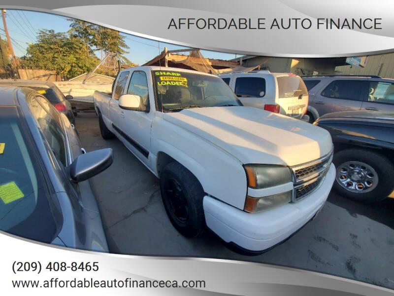 2007 Chevrolet Silverado 1500 Classic for sale at Affordable Auto Finance in Modesto CA