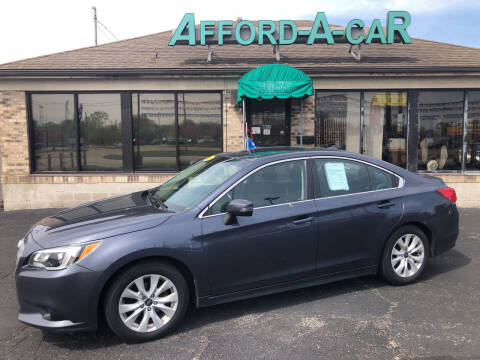 2017 Subaru Legacy for sale at Afford-A-Car in Moraine OH