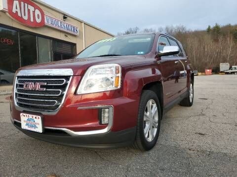 2016 GMC Terrain for sale at Auto Wholesalers Of Hooksett in Hooksett NH