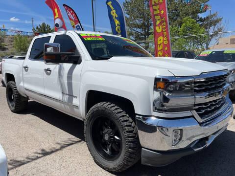 2018 Chevrolet Silverado 1500 for sale at Duke City Auto LLC in Gallup NM