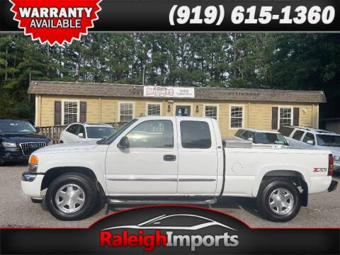 2006 GMC Sierra 1500 for sale at Raleigh Imports in Raleigh NC