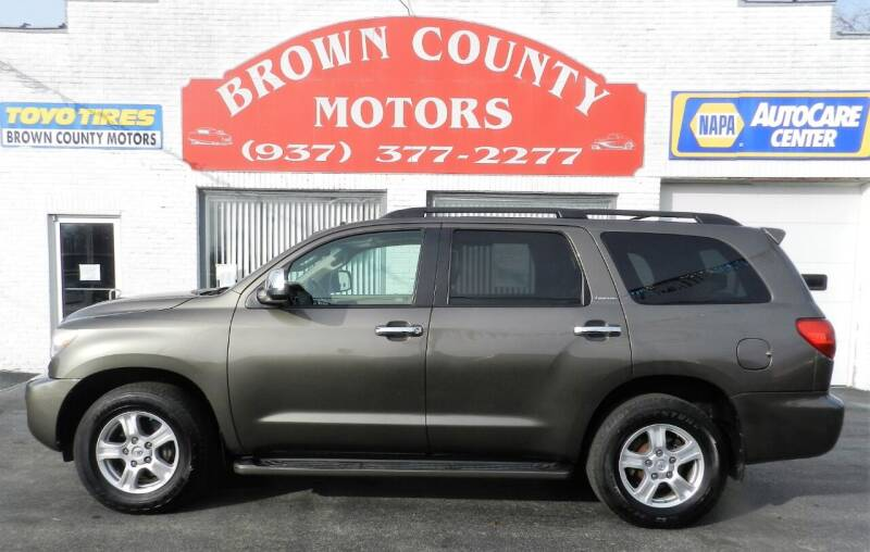 2008 Toyota Sequoia for sale at Brown County Motors in Russellville OH