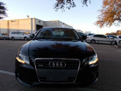 2009 Audi A4 for sale at ACH AutoHaus in Dallas TX