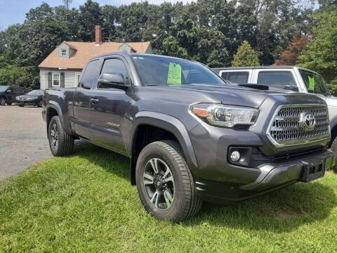 2016 Toyota Tacoma for sale at Cappy's Automotive in Whitinsville MA
