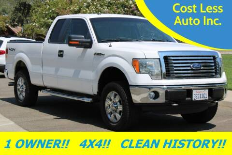 2012 Ford F-150 for sale at Cost Less Auto Inc. in Rocklin CA