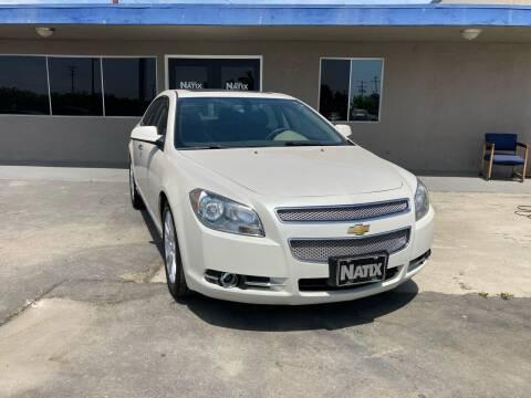 2011 Chevrolet Malibu for sale at AUTO NATIX in Tulare CA